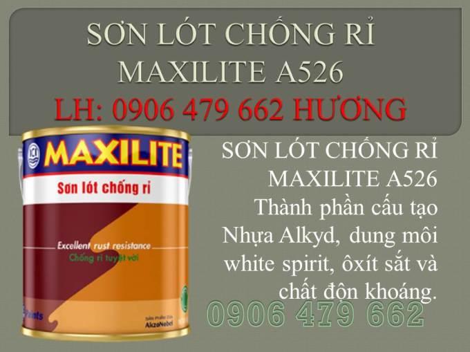 SƠN LÓT CHỐNG RỈ MAXILITE A526