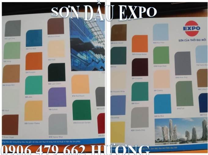 BẢNG MÀU SƠN DẦU EXPO