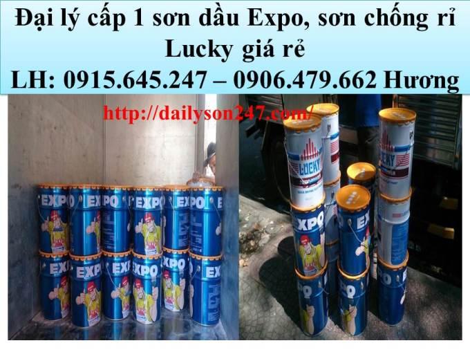 Đại lý cấp 1 sơn dầu Expo,